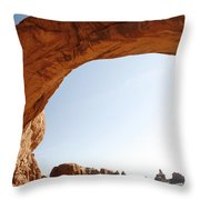 Morning Arch Throw Pillow