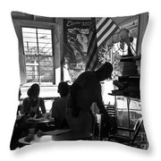 Morning At Komoda's- Makawao, Maui, Hawaii Throw Pillow