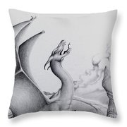 Morning Bellow Throw Pillow
