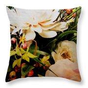 Morning Bloom Throw Pillow