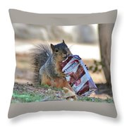 Morning Boost Throw Pillow