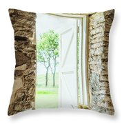 Morning Breeze Throw Pillow