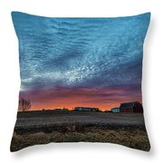 Morning Color Throw Pillow