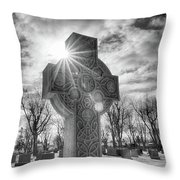 Morning Cross Throw Pillow