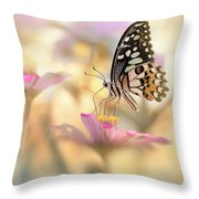 Morning Dance Throw Pillow