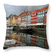 Morning Danish Throw Pillow