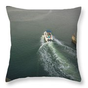 Morning Excursion Throw Pillow