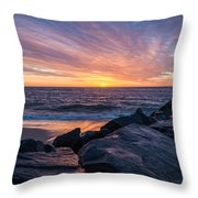 Morning Extremes  Throw Pillow