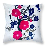 Morning Feeding  Throw Pillow