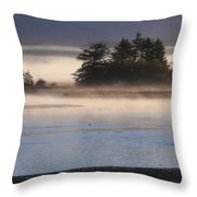 Morning Fishing 3 Throw Pillow