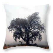 Morning Fog - The Delta Throw Pillow