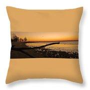 Morning Glow #2 Throw Pillow