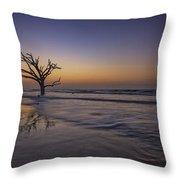 Morning Glow On Edisto Island Throw Pillow