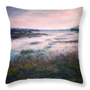 Morning Glow Throw Pillow