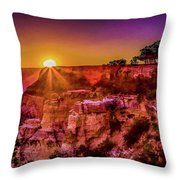 Morning Has Broken 2-painterly Throw Pillow