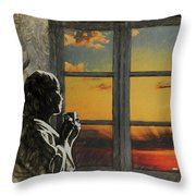Morning In America Throw Pillow