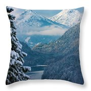 Morning In Bavaria Throw Pillow