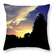 Morning In Helena Throw Pillow