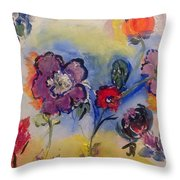 Morning In It's Glory  Throw Pillow