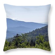 Morning In New Hampshire Throw Pillow