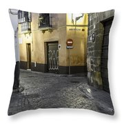 Morning In Seville Throw Pillow