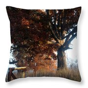 Morning In Tennessee Throw Pillow