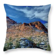 Morning In Zion Throw Pillow