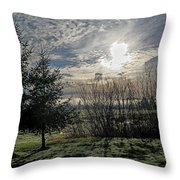 Morning Is Coming Throw Pillow