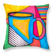 Morning Joe Throw Pillow