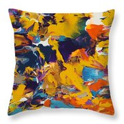 Morning Madness Throw Pillow