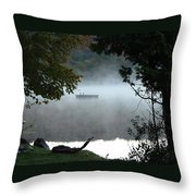 Morning Mist 1008 Throw Pillow