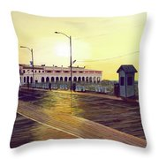 Morning Music Throw Pillow