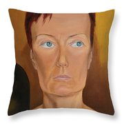 Morning Of Married Woman Throw Pillow
