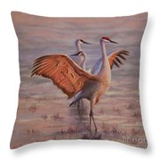 Morning Praise Throw Pillow