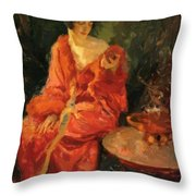 Morning Reflections 1910 Throw Pillow