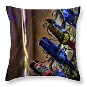 Morning Reflections Throw Pillow by Barry C Donovan