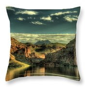 Morning Reflections II Throw Pillow