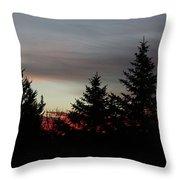Morning Silhouette 2 Throw Pillow