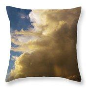 Morning Sky After The Storm Throw Pillow