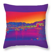 Morning Sky Throw Pillow