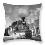 Morning Special Throw Pillow