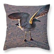 Morning Spread Throw Pillow