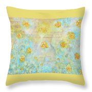 Morning Spring Throw Pillow
