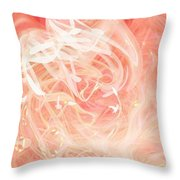 Morning Star Throw Pillow