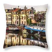 Morning Stillness, Ghent Throw Pillow