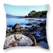 Morning Sun - Fishers Point, Tasmania Throw Pillow
