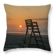 Morning Sun - Wildwood Crest Throw Pillow