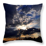 Morning Sunrays Throw Pillow