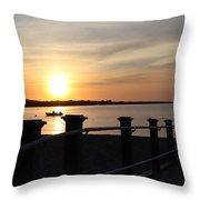 Morning Sunrise 09-02-18 #10 Throw Pillow
