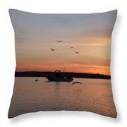 Morning Sunrise 09-02-18 #6 Throw Pillow
